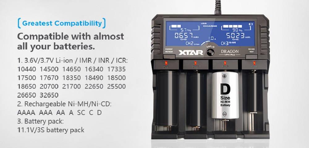 XTAR VP4 PLUS DRAGON compatibility banner