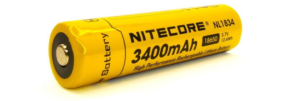Nitecore HC65 NL1834 eleje