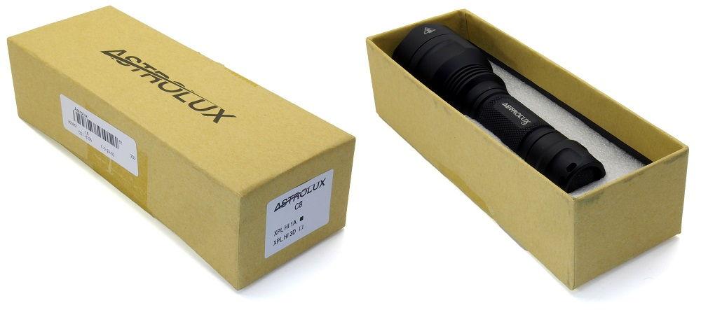 Astrolux C8 doboza