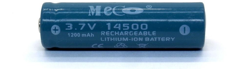 MECO 14500 lítium-ion akku