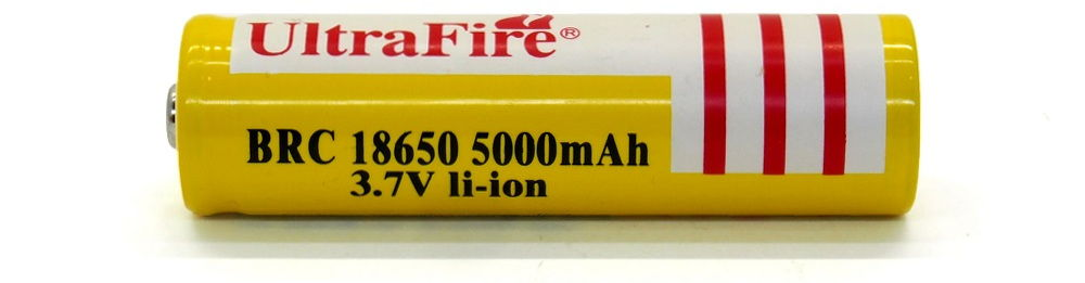 UltraFire BRC 18650 lítium-ion akku