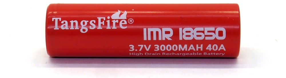 TangsFire IMR 18650 lítium-ion akku