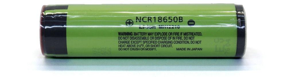 NCR18650B védett lítium-ion akku