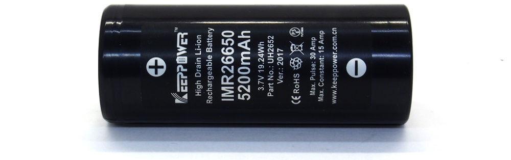 KeepPower IMR26650 lítium-ion akku