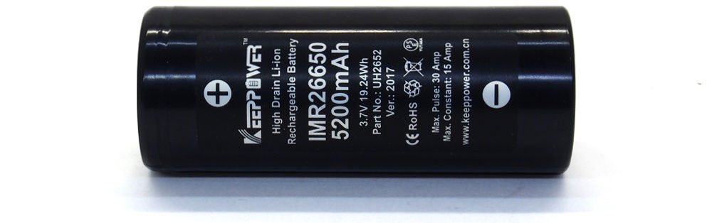 KeepPower IMR26650 lítium-ion akku