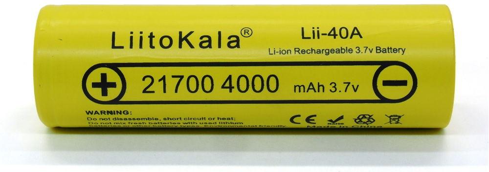LiitoKala Lii-40A lítium-ion akku