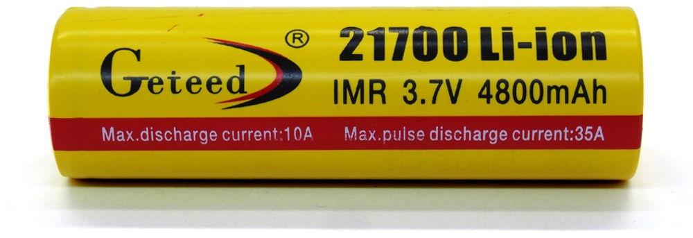 Geteed IMR 21700 lítium-ion akku
