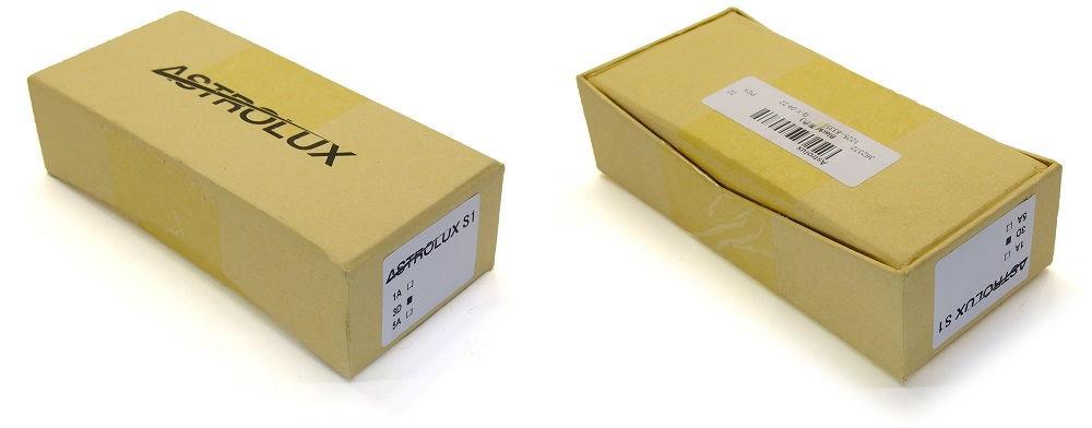 Astrolux S1 doboza