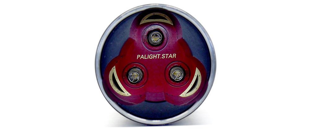 Palight BOSS II 2 akkutartó a testben