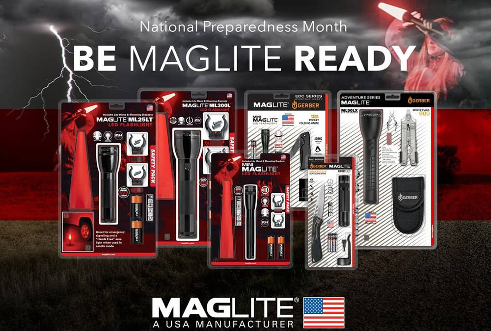 Maglite ML300LX preparedness banner