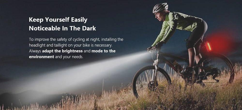 UTorch kerékpár lámpa mode banner
