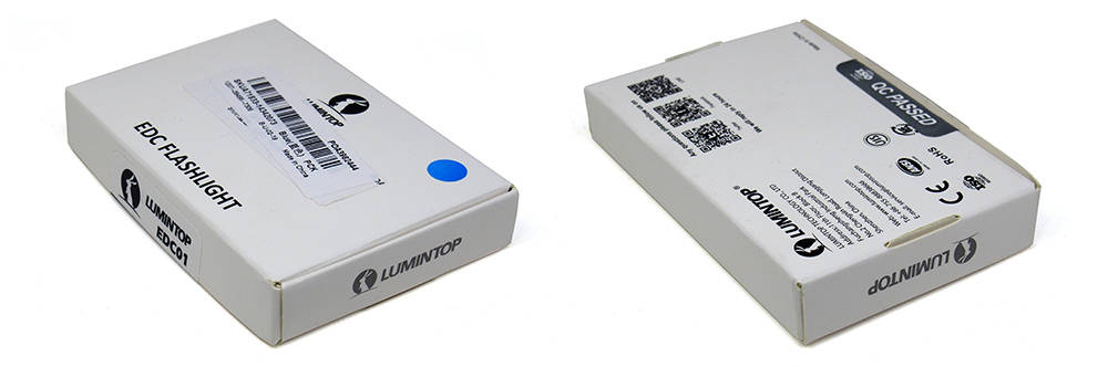 Lumintop EDC01 doboza
