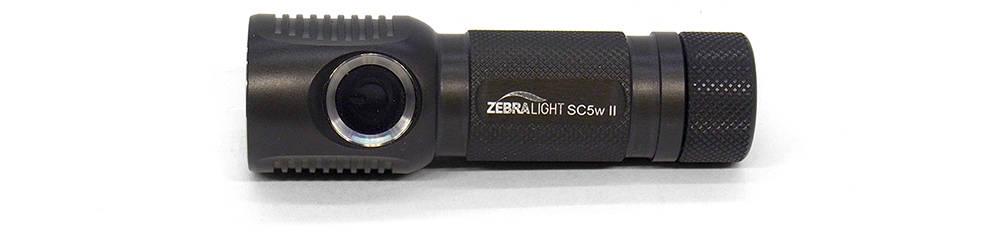 Zebralight SC5w mk II oldalról