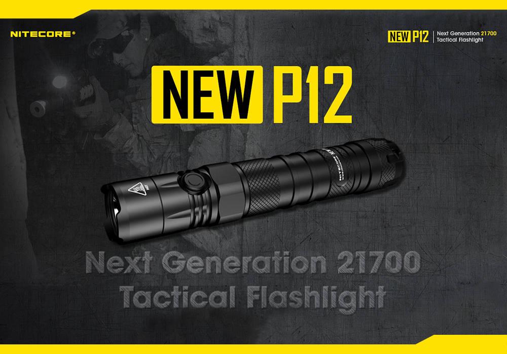 Nitecore új P12 borító