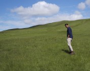 Fjaðrárgljúfur hill