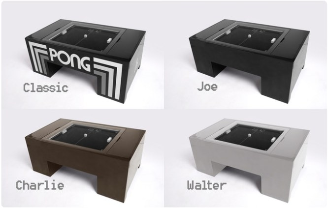 TABLE PONG デザイン