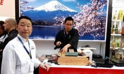 Afilando cuchillos en Japón