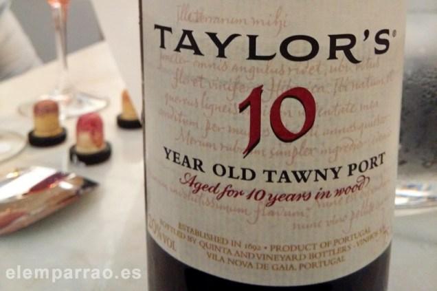 Tawny de 10 años de Taylor's