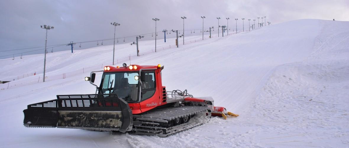 Попова Шапка подготвенa за скијање