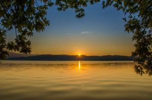 Dojran Lake, Macedonia