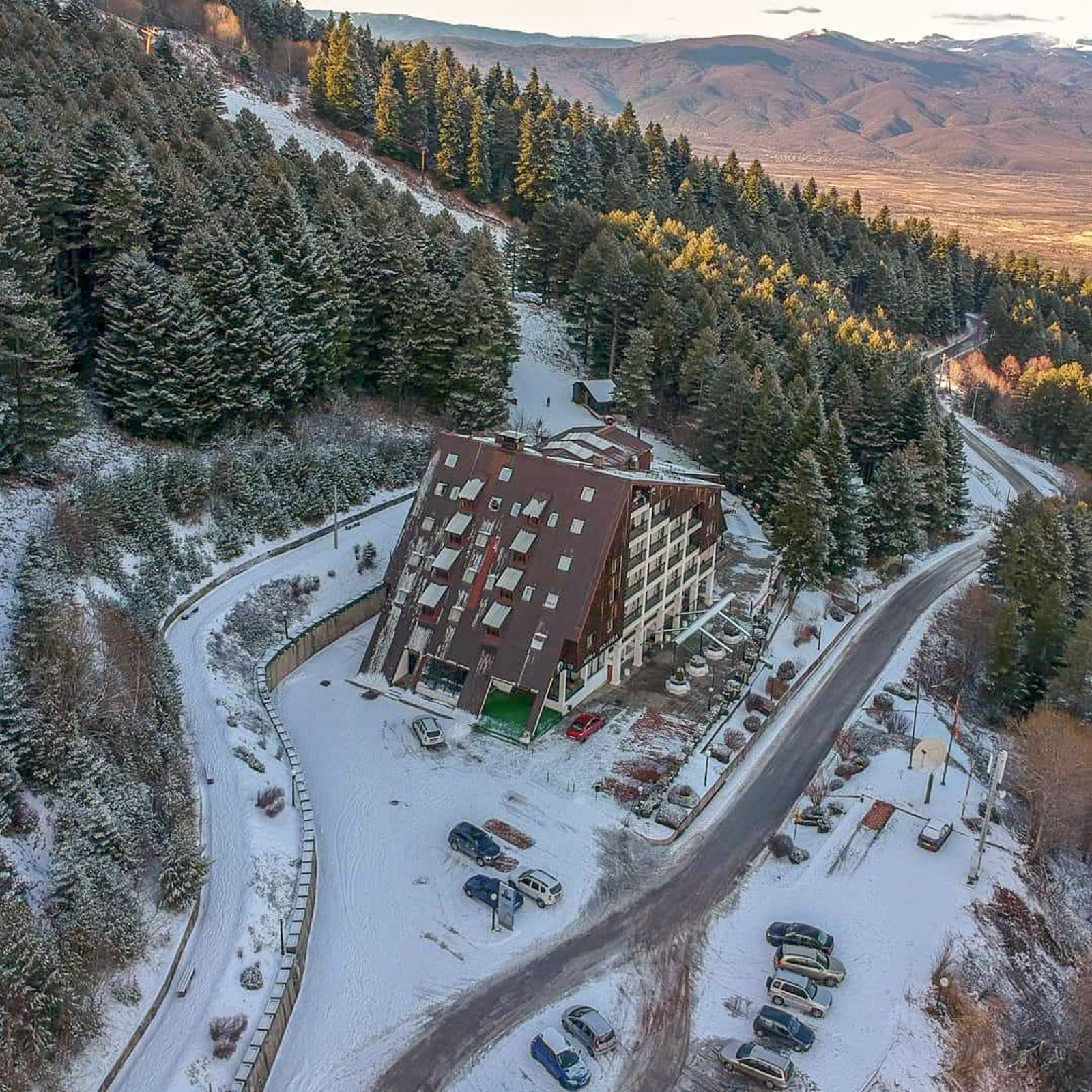 Hotel Molika – panoramic air photograph – 04 January 2018