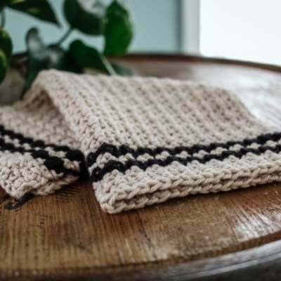 The Cobblestone Crochet Dishcloth