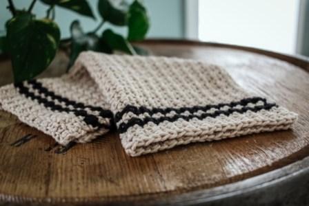 The Cobblestone Crochet Dishcloth 2