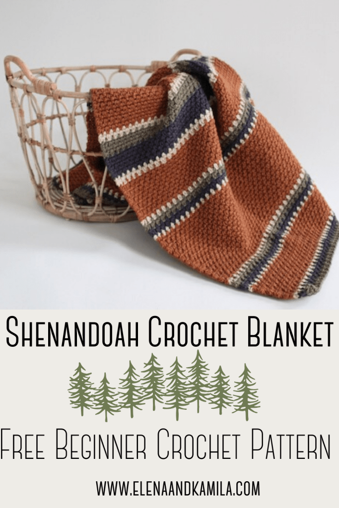 The Shenandoah Crochet Blanket Pinterest