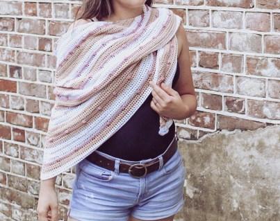 The Willow Crochet Shawl