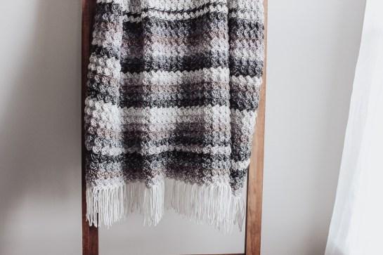 Summer Storm Crochet Blanket Fringe