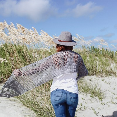The Stevie Crochet Wrap