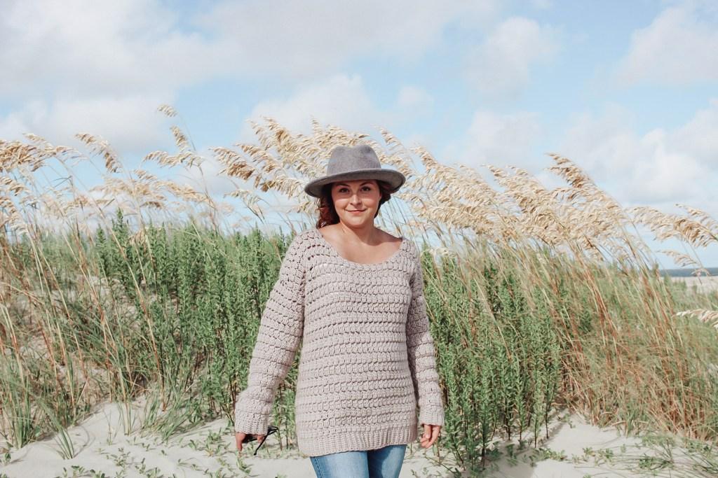 The Aspen Crochet Sweater 1