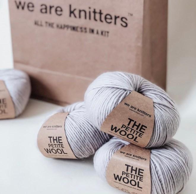 The Aspen crochet sweater yarn used