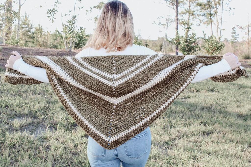 The demelza shawl