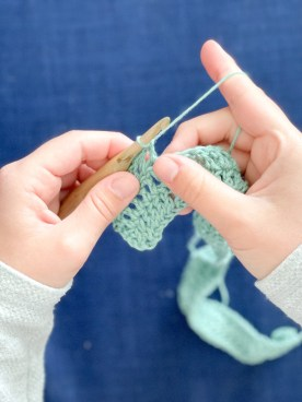 The Tides crochet cardigan stitches