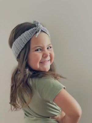 Ivy crochet headband