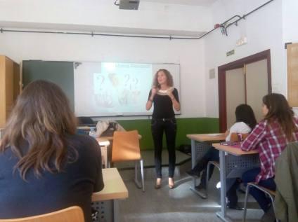 Charla Marca Personal orientada a la búsqueda de empleo en Facultad de Ciencias de la Educación (Universidad de Oviedo)