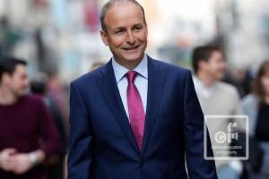 Micheál Martin pictured by Conor McCabe Photography
