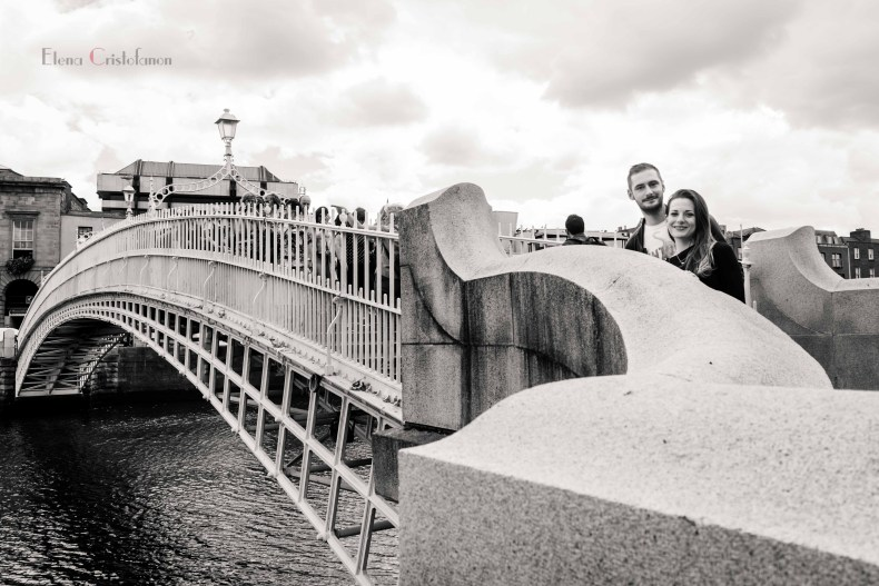 Ha'Penny Bridge, Dublin, 2016