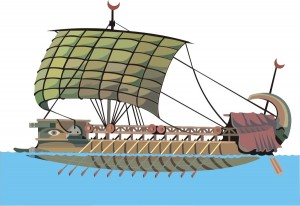 Phoenician Merchant Ship