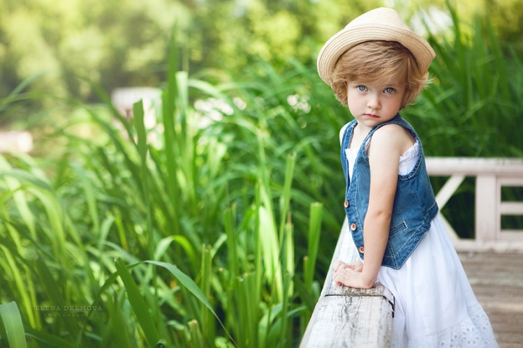 Детская фотосъемка на природе