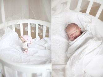 Фотосъемка малыша в люльке