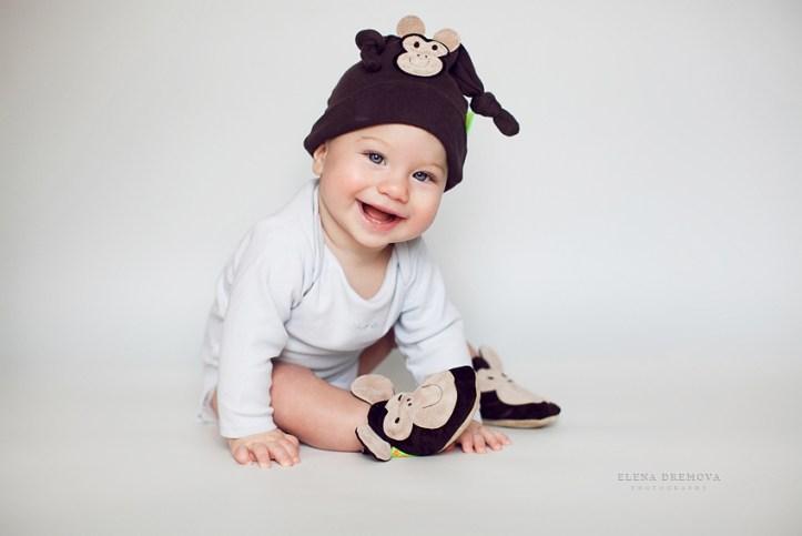 Студийная фотосессия малыша
