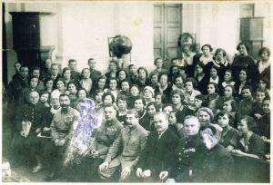 совещание жен командного и начальствующего состава РККА