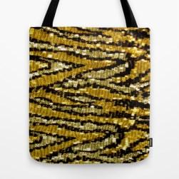 Wild Glitters Tote Bag