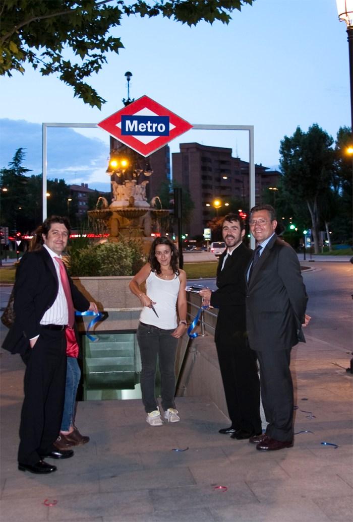 Express Opening in Albacete, Urban art festival: Desubicados (La bicicleta azul)