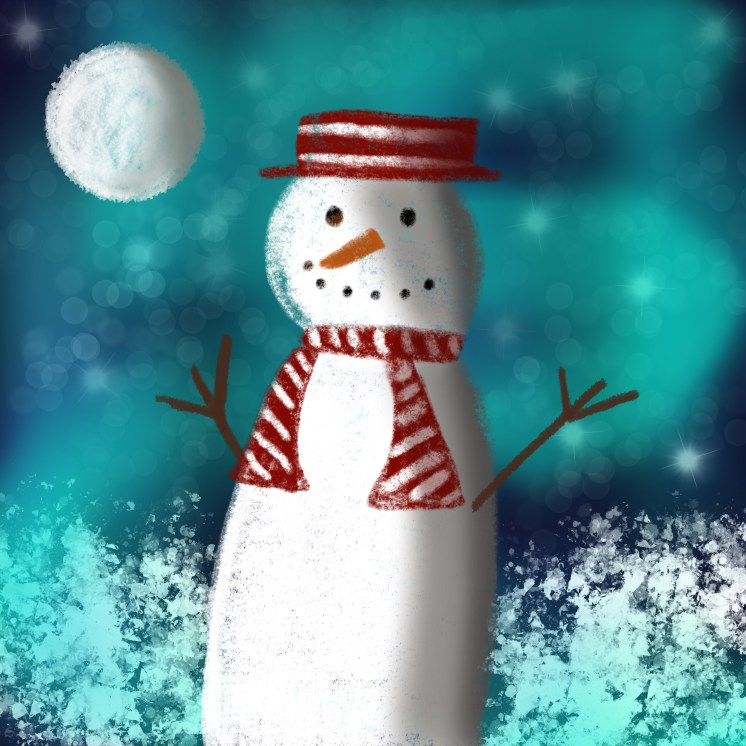 Snow_Man_Procreate