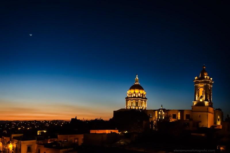 Hora azul en San Miguel Allende