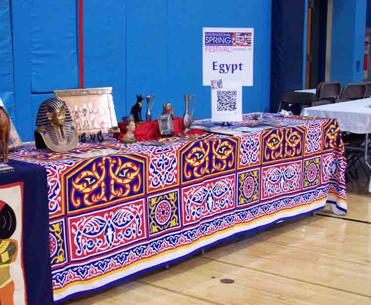 Display about Egypt