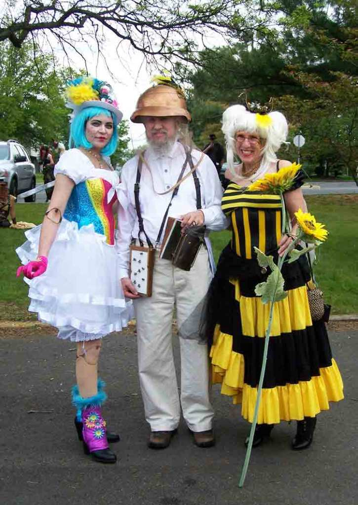 Sweet as Honey. Flower, Beekeeper, and Bee.